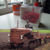 Thumbnail image for Wiking's Hanomag K55 crawler tractor 1/25 scale [#1 crawler tracks] [video]