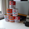 Thumbnail image for Recycling soup cans for vintage oil can replicas [How to & oil can template for download]