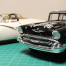 Thumbnail image for 57 Chevy Black Widow Stock Car – Decals on and some weathering tests