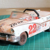 Thumbnail image for 1956 Ford Sunliner – Glenn Fireball Roberts – Weathered