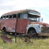 Thumbnail image for 1950 Chevrolet Bus – Desert Find