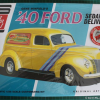 Thumbnail image for 1940 Ford Delivery Sedan 1/25 AMT