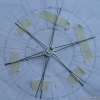 Thumbnail image for Vintage 702 aermotor windmill – making the wheel [2]