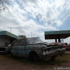Thumbnail image for Vintage gas station turned into a junkyard in Bernardo Larroude, La Pampa, Argentina
