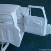 Thumbnail image for '64 Chevy Pickup Fleetside – Revell kit – hinges pillar [7]