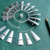 Thumbnail image for Vintage 702 aermotor windmill – adding the sails to the wheel [3]