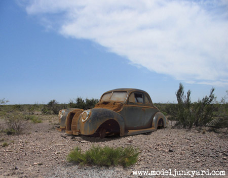 1940 Ford Coupe Desert