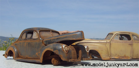 Post image for 1940 Ford Coupe – The Beginning of Modeljunkyard