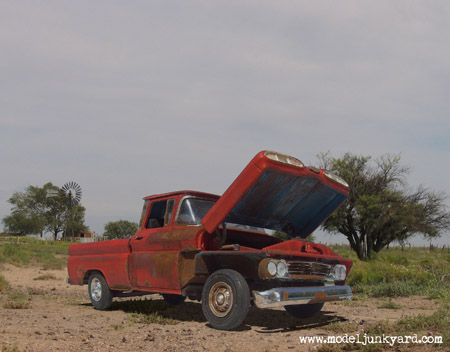 Post image for 1960 Junkyard Dog Chevy Pick up