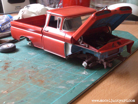 1960 Chevy Pickup AMT undone