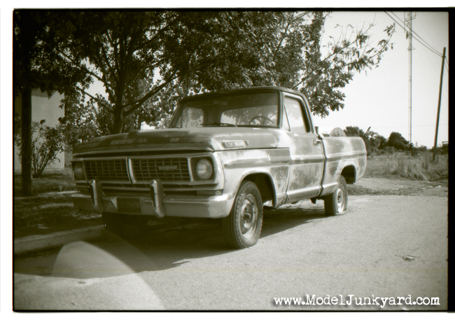 Post image for 1972 Ford F-100 pickup, junked -real-