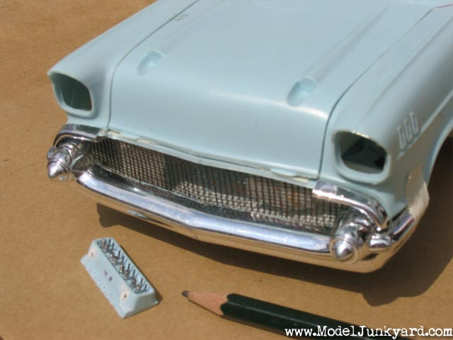 Post image for 1957 Chevrolet Bel Air [2] – Further Progress