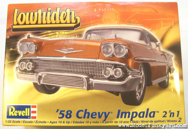 Post image for 58 Chevy Impala Revell Lowrider Series 1/25