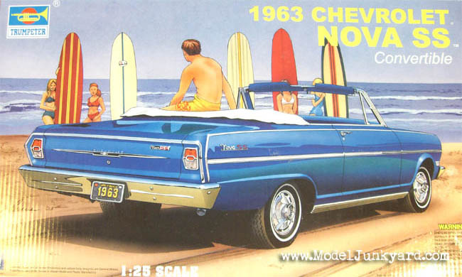 Post image for 63 Chevy Nova 1/25 from Trumpeter
