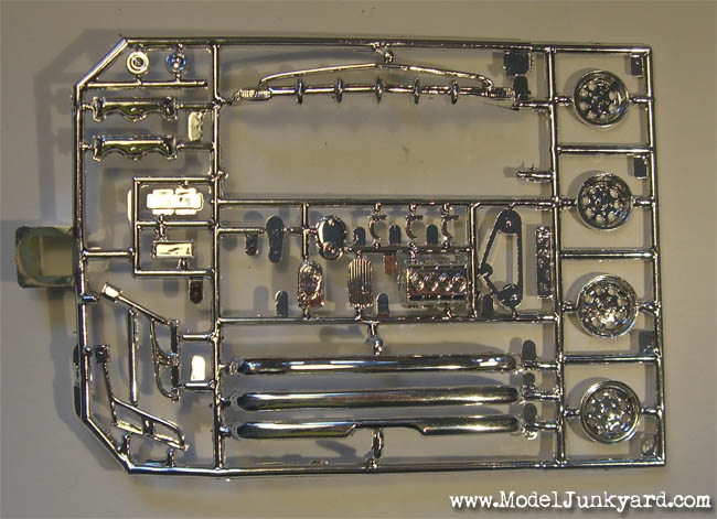 HOTROD Custom 55 56 57 Chevys Revell 54 Chromed parts