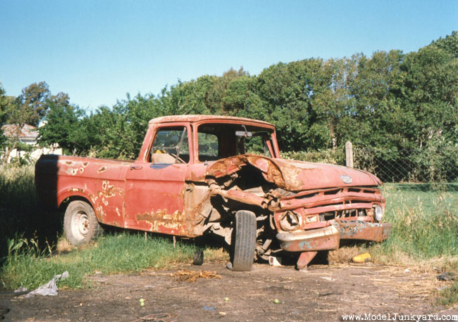 Post image for 1963 Ford F100 Pick up – junked