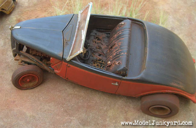 36 Ford AMT Junk Model Car