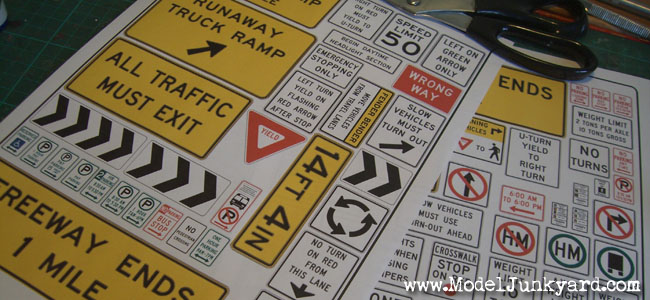 Road Signs - How to make road signs - PREVIEW