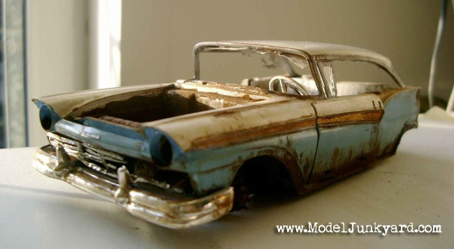 Post image for 57 Ford Fairlane 500 Junker – Some Building Tips