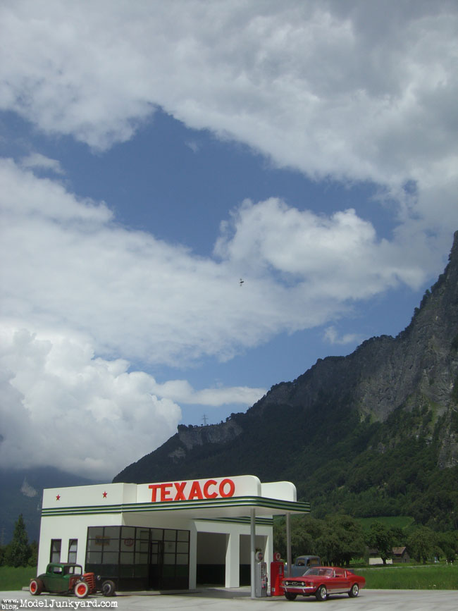 Post image for Texaco Gas Station photo shooting in Switzerland [1st location]