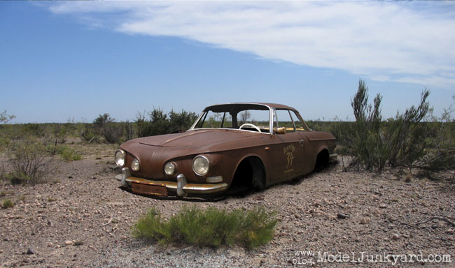 Post image for Malte's VW Karmann Ghia type 34 1965 – Rat Rod