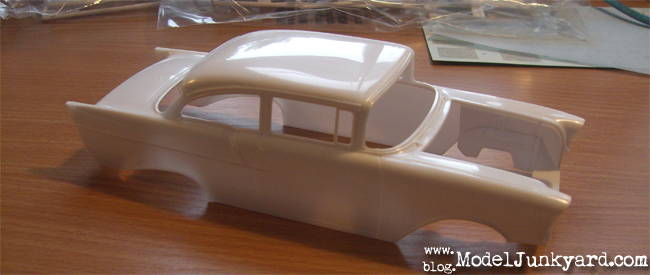 Kit Review - Chevy 57 Black Widow - Body