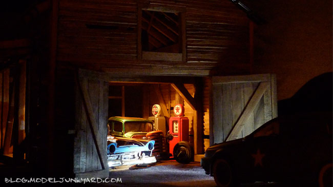 Post image for The Old Barn Diorama – Finished project!