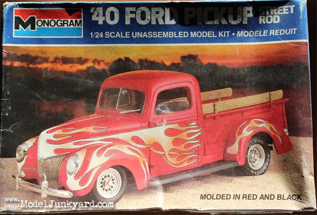 Post image for Kit Review – 1940 Ford Pick up by Revell Monogram