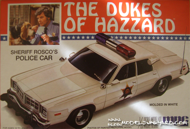 Post image for Dodge Monaco Dukes of Hazzard Roco`s Police Car by MPC – Kit Review