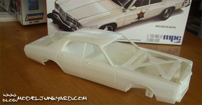 Dodge Monaco Dukes of Hazzard Roscoe's Police Car - Body