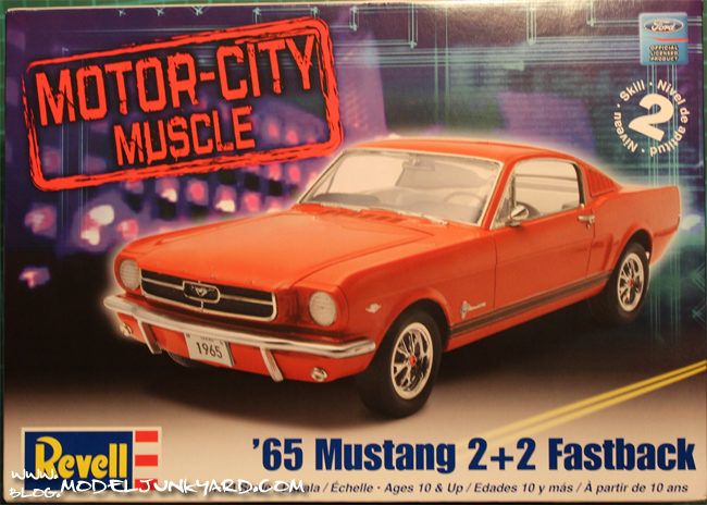 Post image for Kit Review – 65 Ford Mustang Fastback by Revell