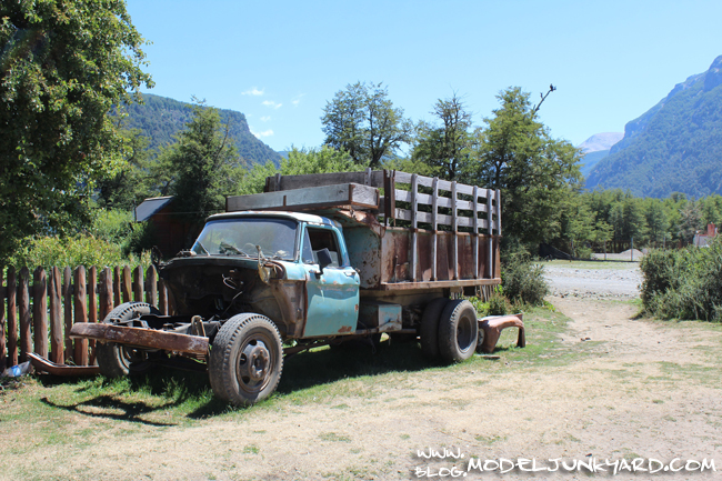 Road Trip Argentina Patagonia Junk Cars - 1965 Ford Truck