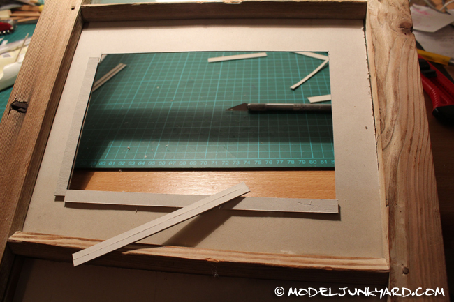 Window as Picture Frame - Assembly