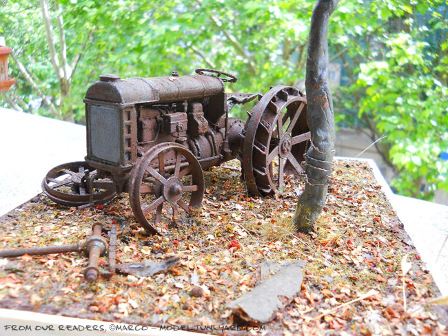 Post image for From our readers – Marco's 1/16 1917 Fordson Model F tractor