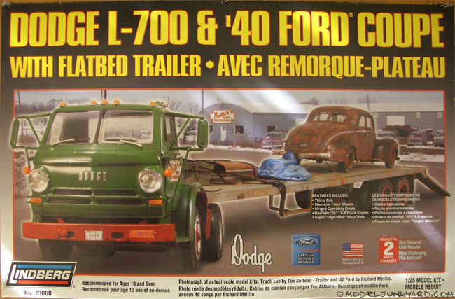 Post image for Kit Review – Dodge LT 700 & Ford 40 Coupe