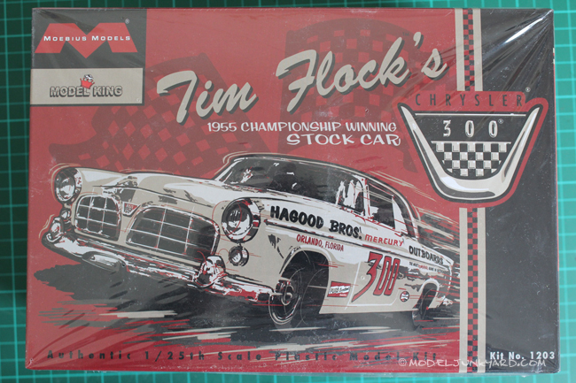 Post image for Kit Review – 55 Chrysler 300 Tim Flock's Stock Car by Moebius Models