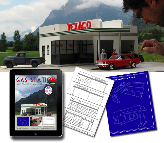 Post image for The Gas Station blueprints and scratch building tutorial are here! [ebook]