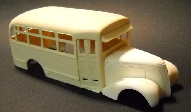 Post image for 1/25 1937 Studebaker Bus Resin Kit
