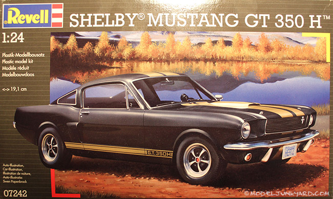 Post image for Kit Review – Revell 1/25 Mustang Shelby GT 350 H 1/24
