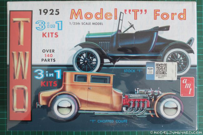 Post image for 1925 Ford Model T 1/25 by AMT