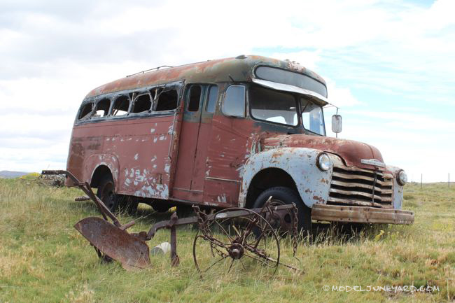 Post image for 1950 Chevrolet Bus – Desert Find