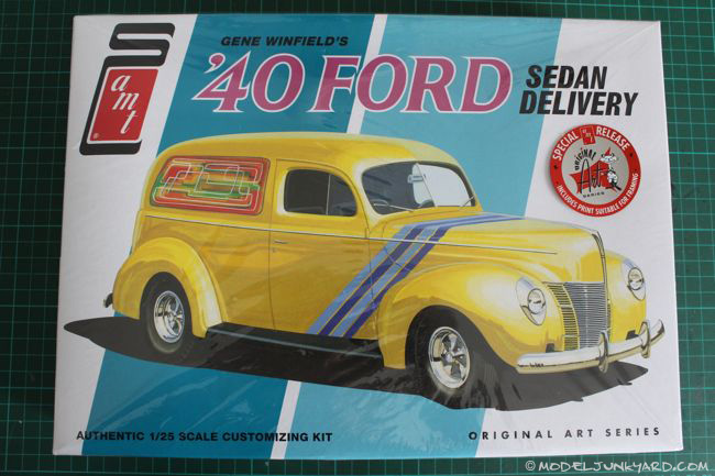 Post image for 1940 Ford Delivery Sedan 1/25 AMT