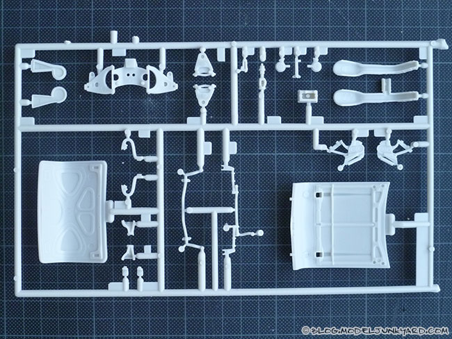 57 Chevyrolet Bel Air AMT 1/25 Kit - Parts I