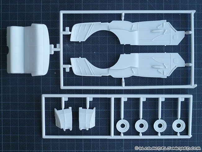 57 Chevyrolet Bel Air AMT 1/25 Kit - Parts II