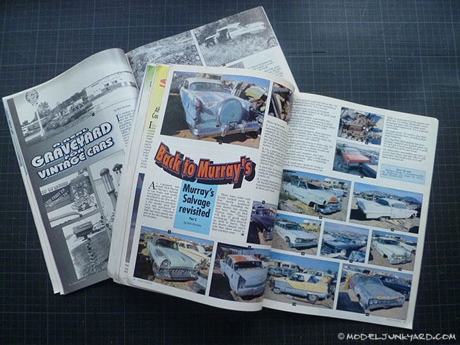 Cars & Parts Magazine - Junkyard articles