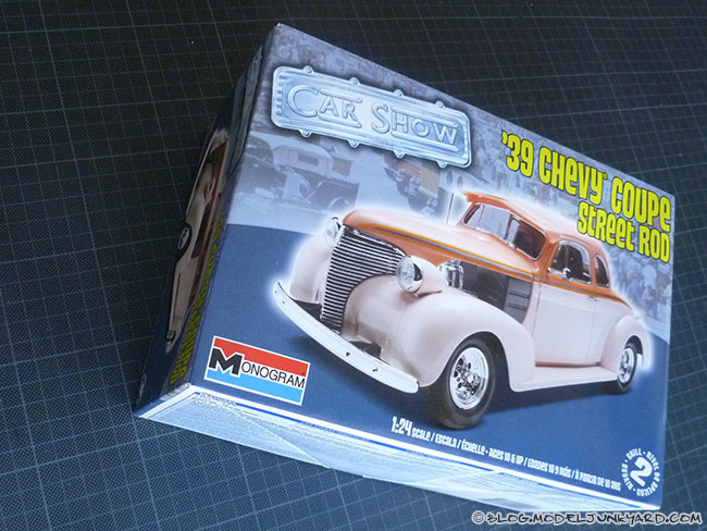 Post image for KIT REVIEW – 39 Chevy Coupe Street Rod – Monogram 1/24