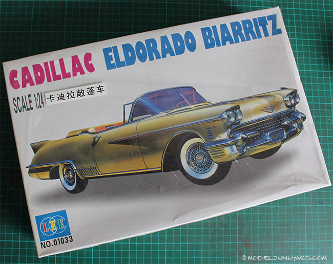 Post image for KIT REVIEW – 1958 Cadillac El Dorado 1/25 by Lee