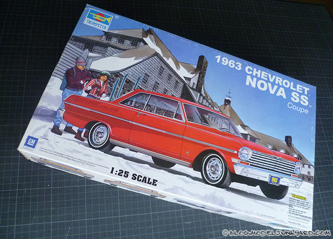 Post image for Kit Review – '63 Chevy Nova Coupe SS 1/25 by Trumpeter