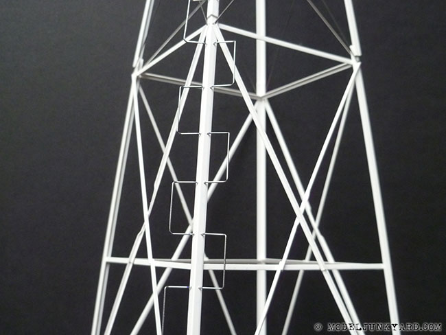 Post image for Vintage 702 aermotor windmill – scratch building the tower [1]