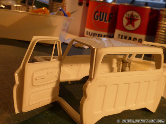 Post image for '64 Chevy Pickup Fleetside – Revell kit – door panels [3]
